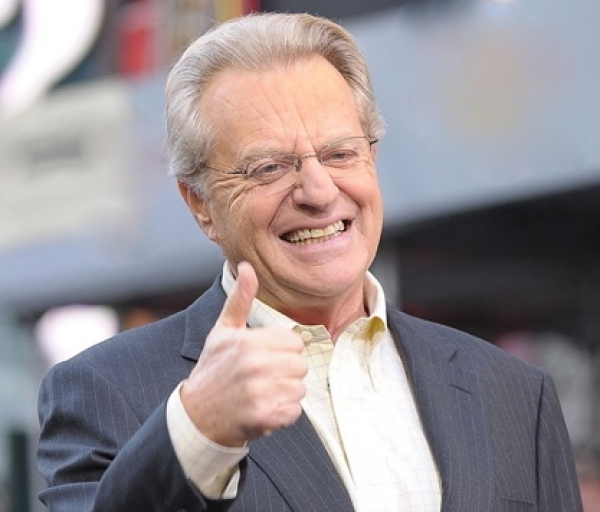 """We just love this guy Francis."" Jerry Springer"